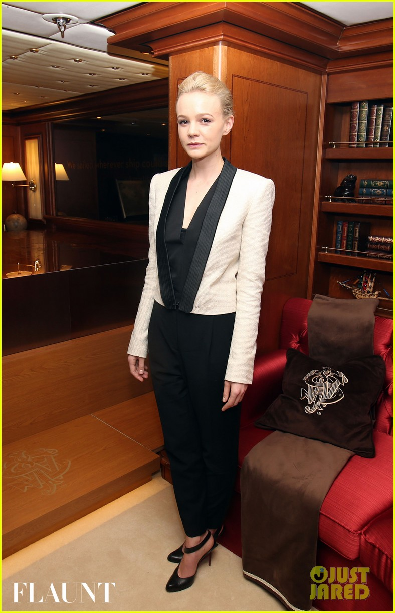 carey mulligan repeats outfit at flaunt party in cannes 072874421