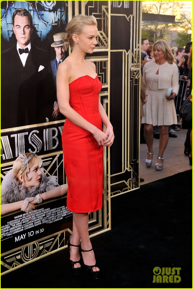carey mulligan great gatsby premiere gma appearance 03