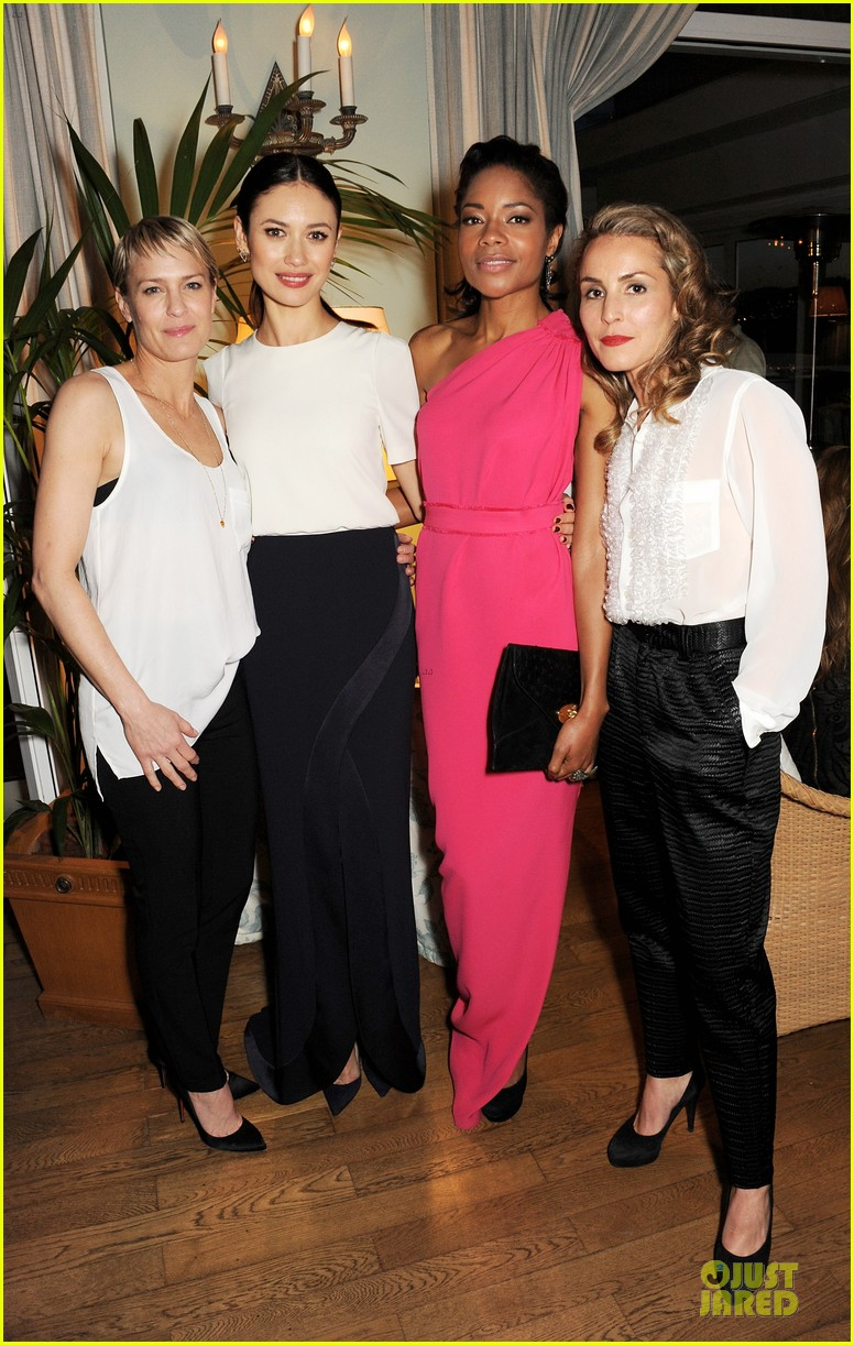 olga kurylenko robin wright finch quarterly review filmmakers dinner at cannes 012872661