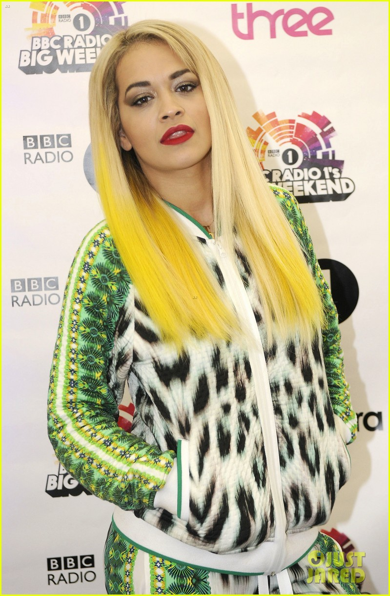 rita ora bbc radio 1 big weekend 012877813
