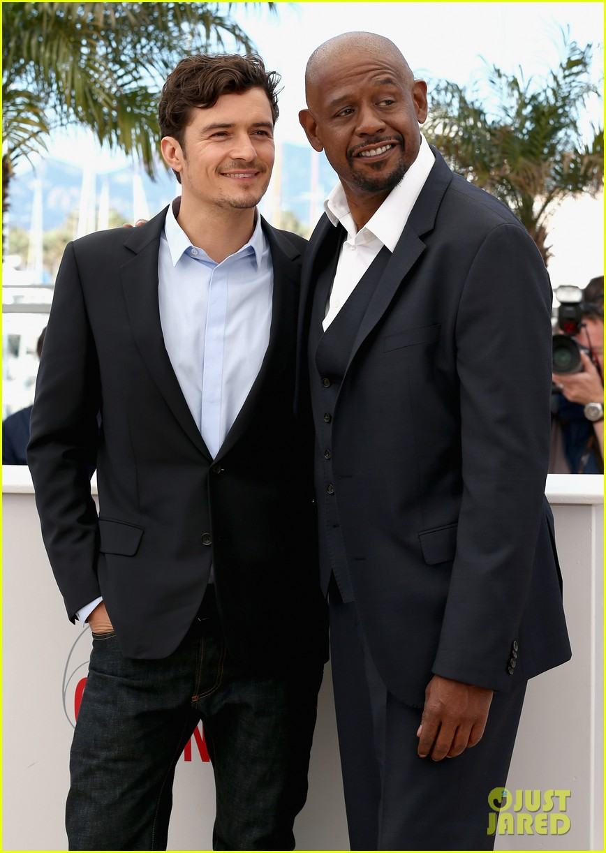 orlando bloom forest whitaker zulu photo call 032878358