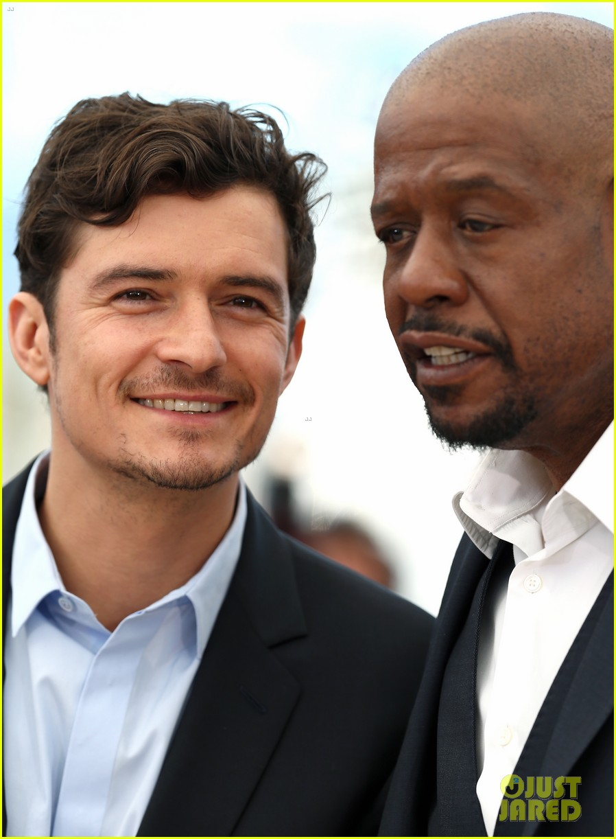 orlando bloom forest whitaker zulu photo call 202878375