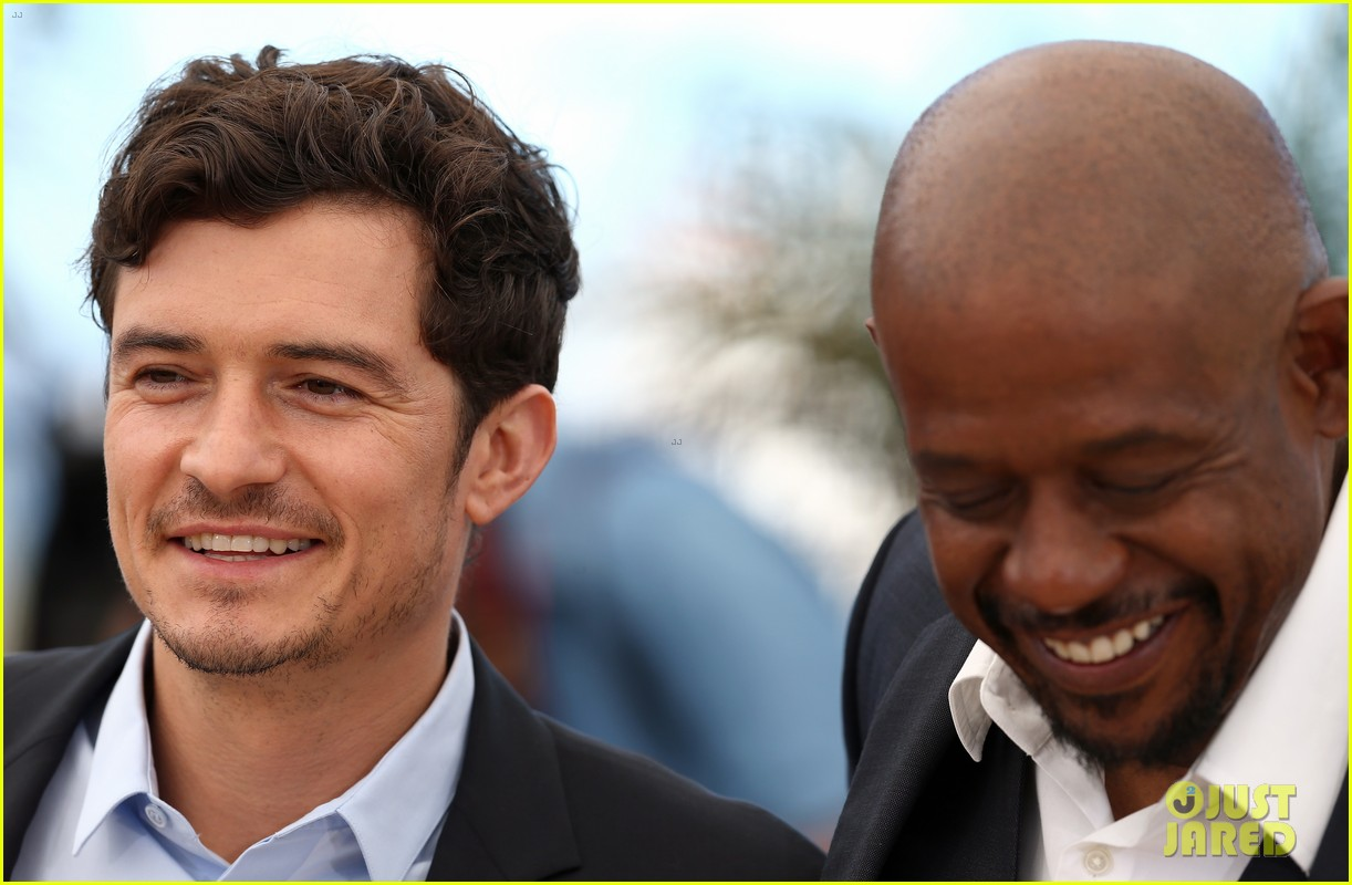 orlando bloom forest whitaker zulu photo call 22