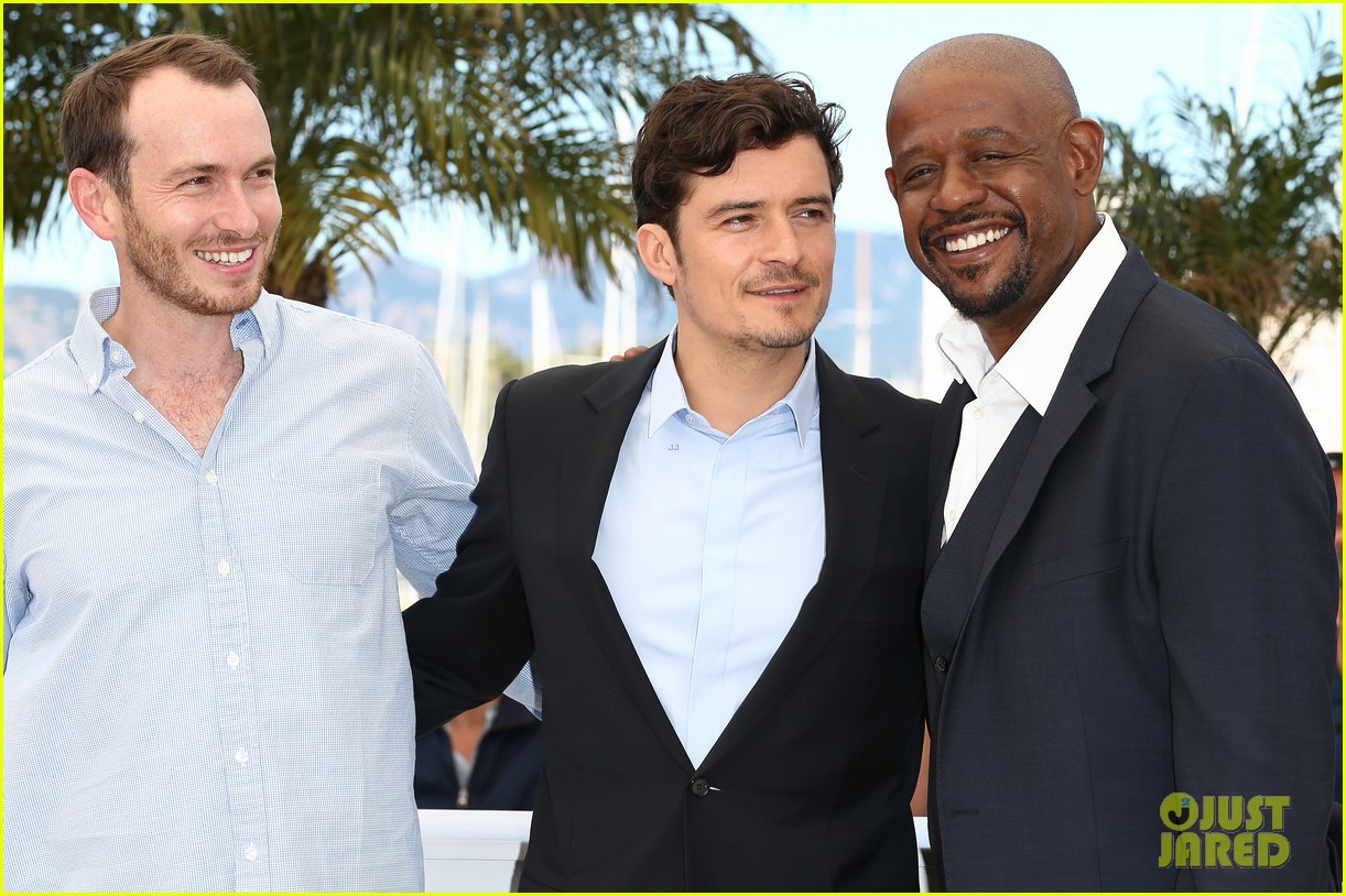 orlando bloom forest whitaker zulu photo call 252878380