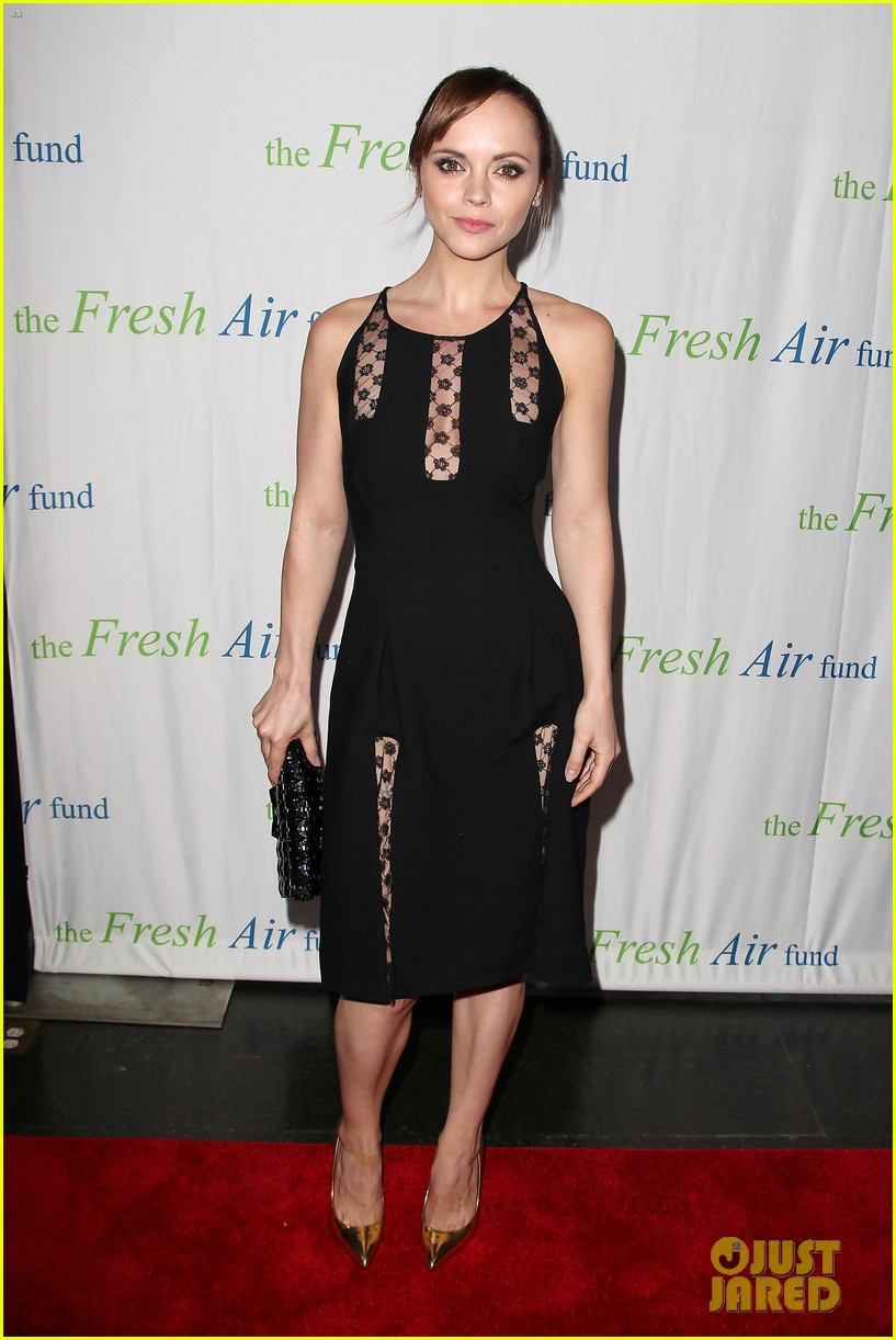 christina ricci fresh air fund event with victor cruz 07