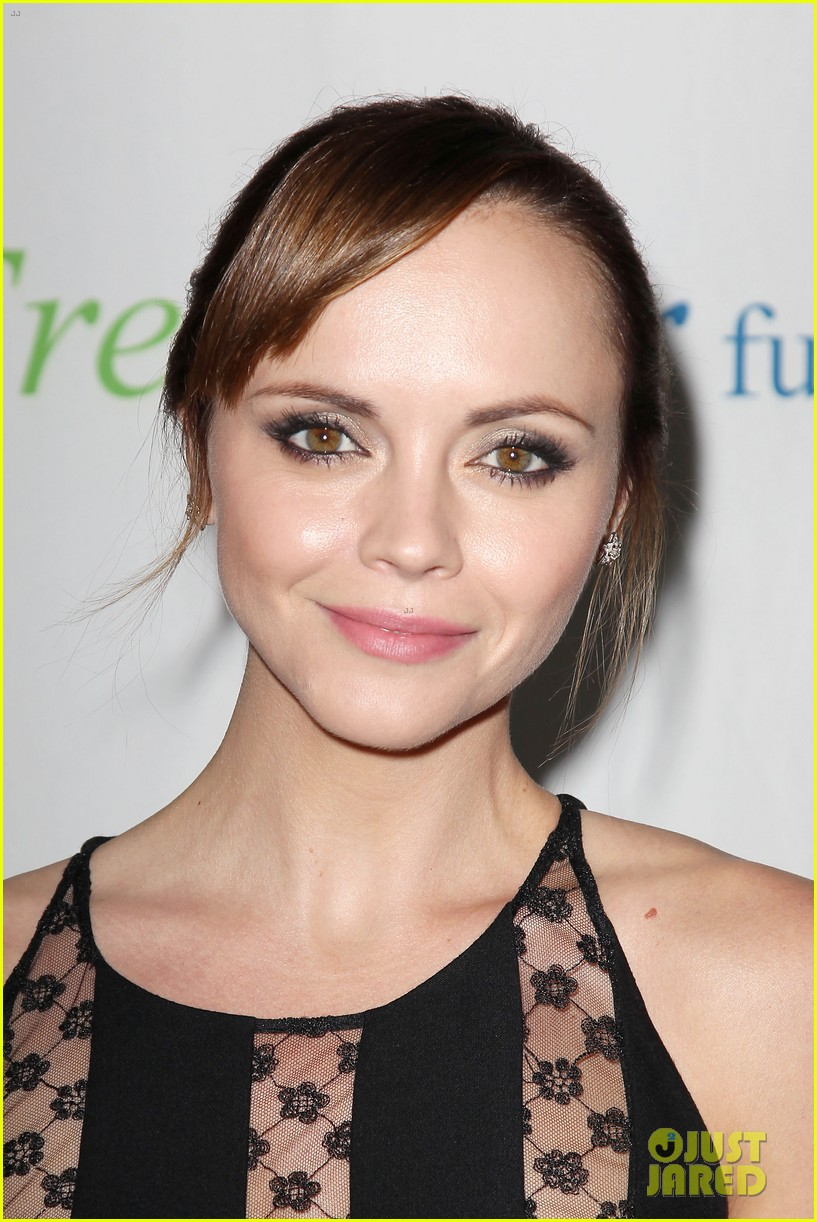 christina ricci fresh air fund event with victor cruz 102881078