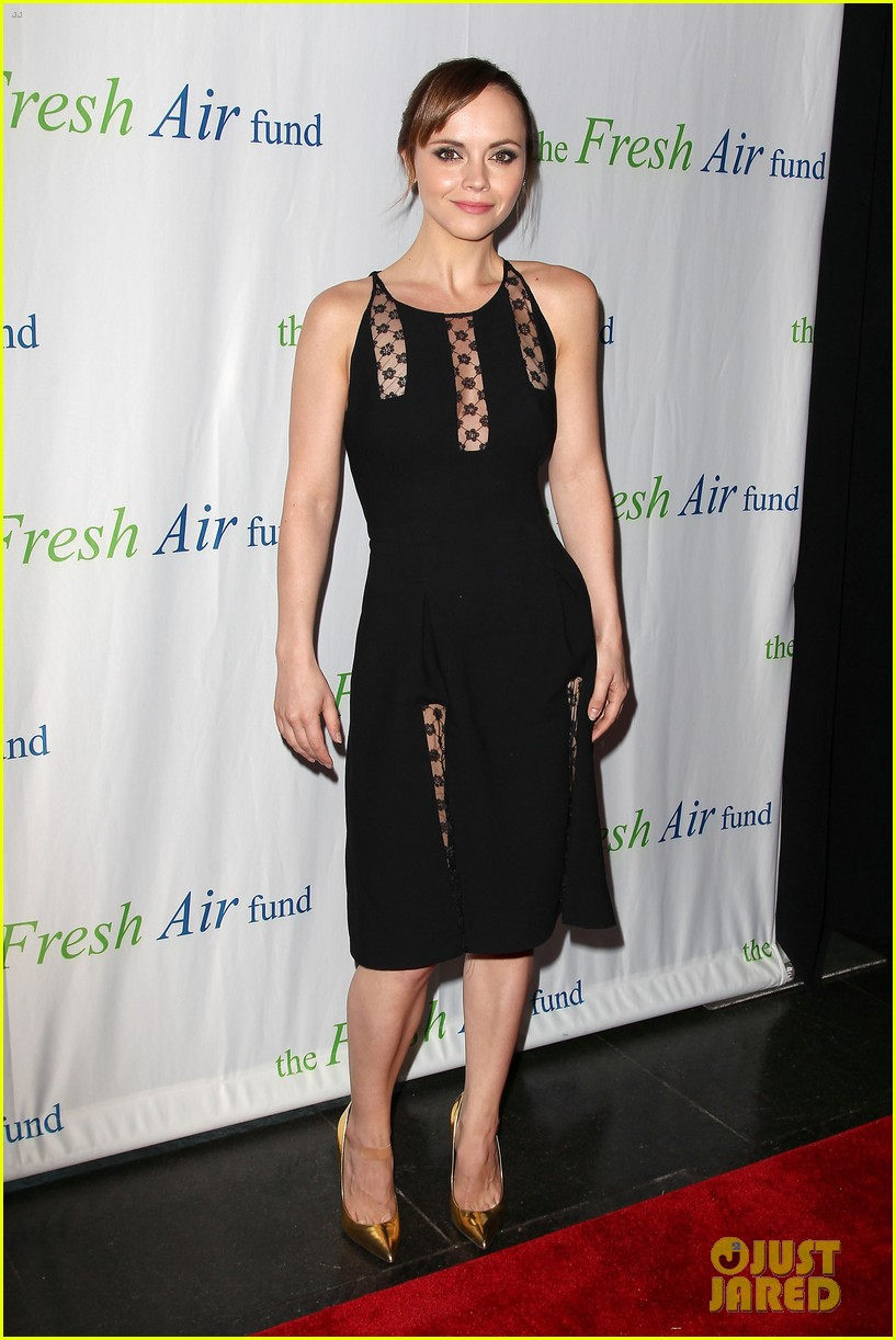 christina ricci fresh air fund event with victor cruz 13