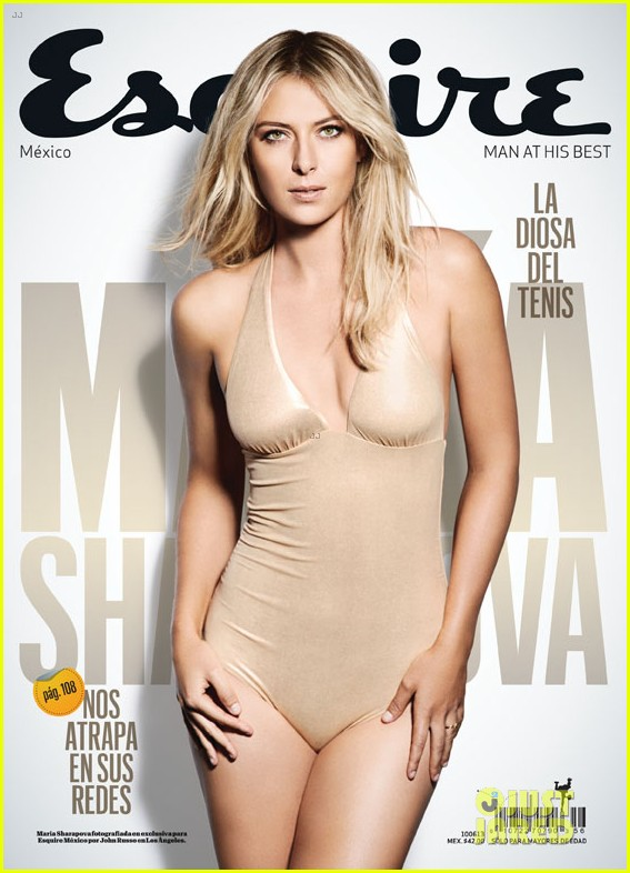 maria sharapova covers esquire latin america 08