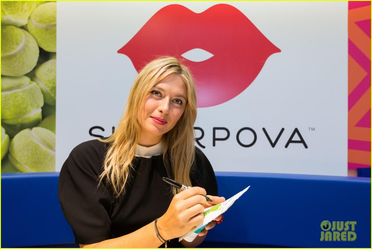 maria sharapova sugarpova launch in france 02