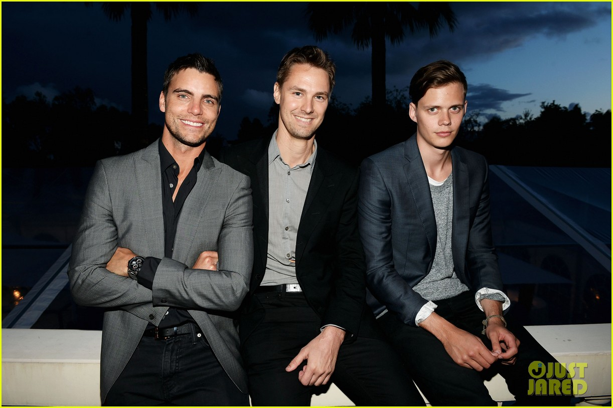 bill skarsgard colin egglesfield support rhinos at cannes 182873182