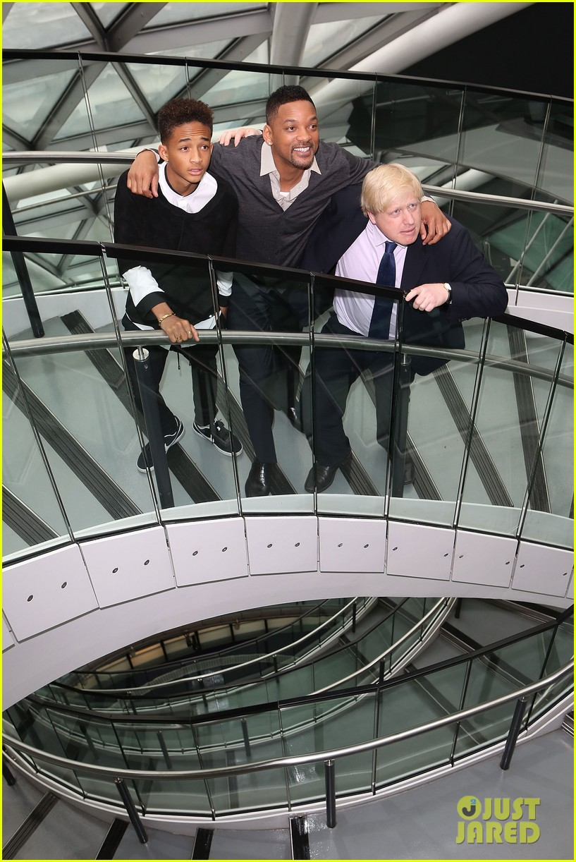 will smith cityhall celebration with jaden smith 012877462