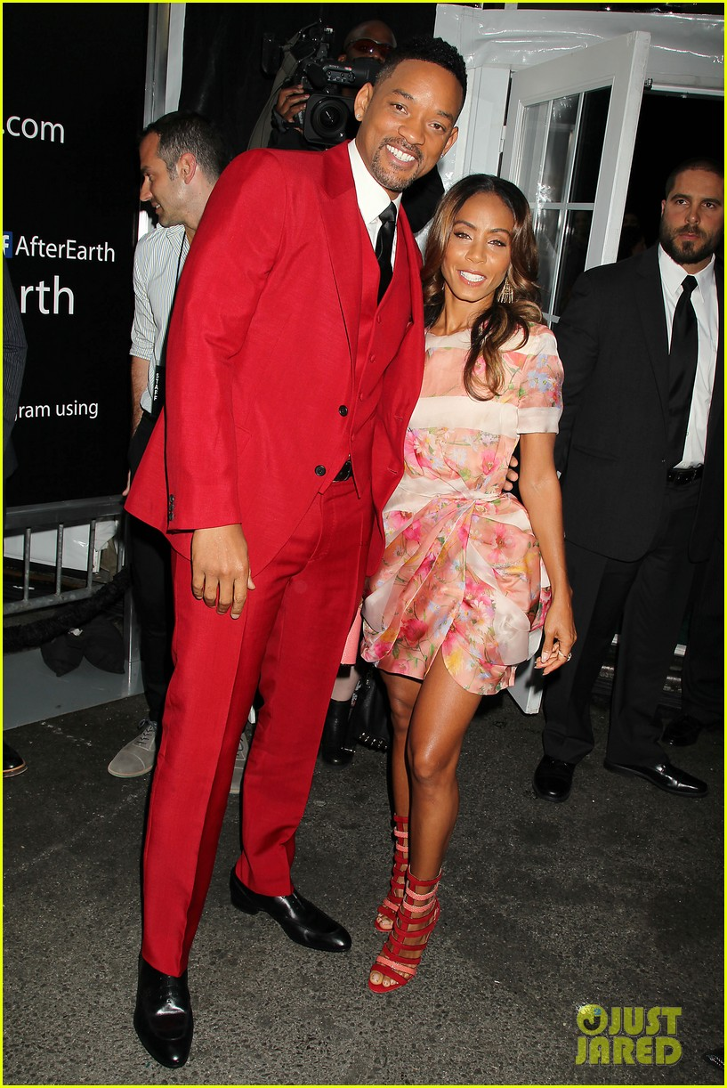 jada will smith after earth premiere with willow jada trey 01