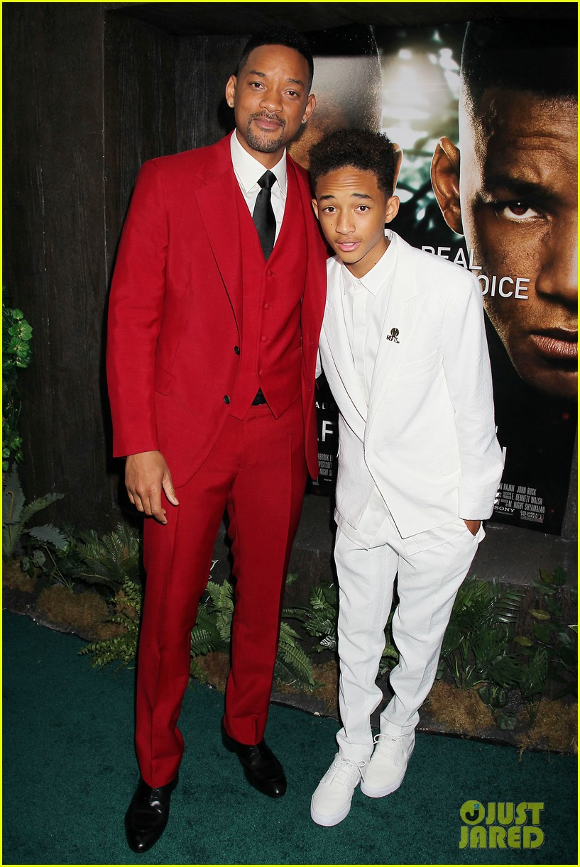 jada will smith after earth premiere with willow jada trey 28