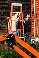 matt smith shirtless shaved head for ryan gosling movie 07