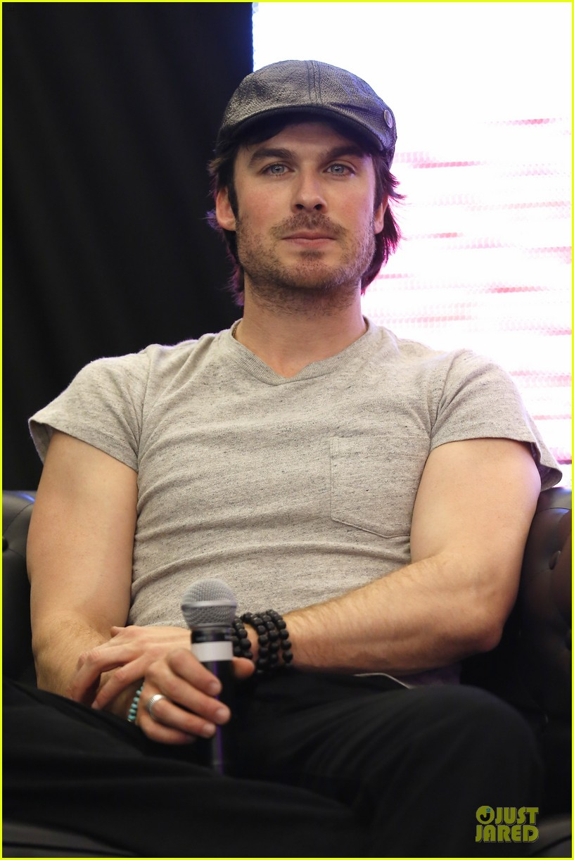 ian somerhalder paul wesley vampire diaries paris qa 06