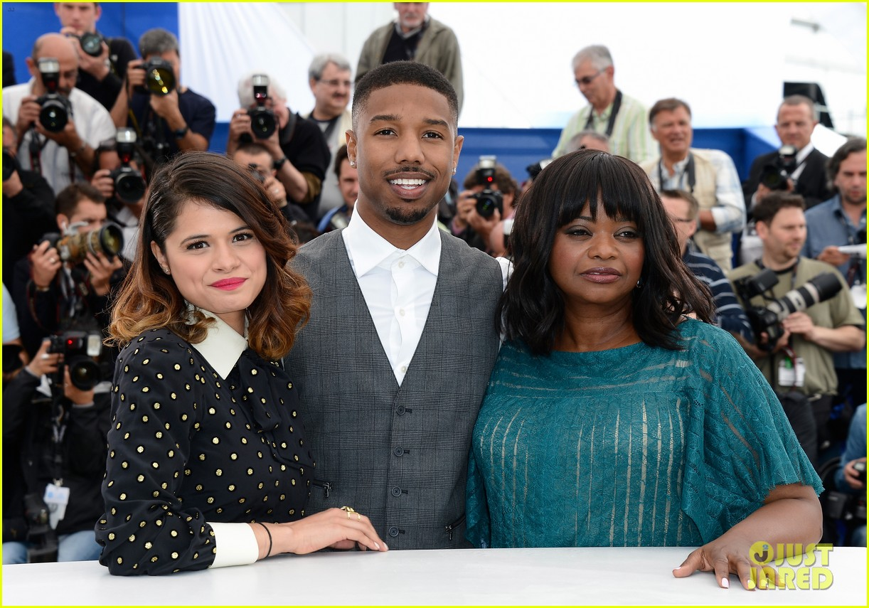 octavia spencer michael b jordan fruitvale station at cannes 08