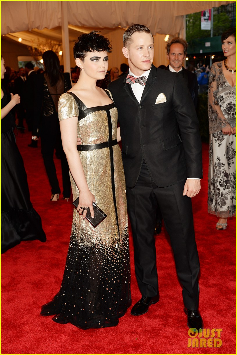 sebastian stan josh dallas met ball 2013 red carpet 052865887