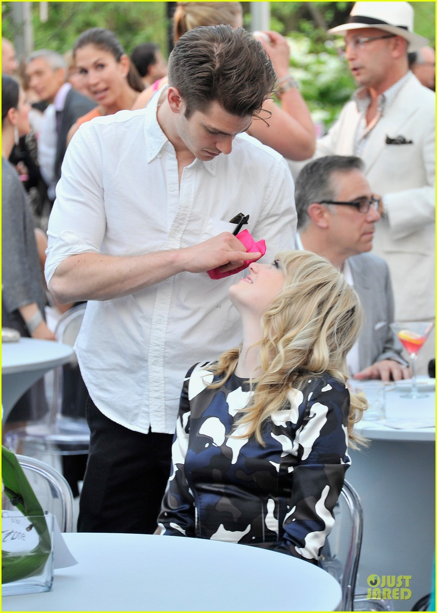 emma stone andrew garfield triple negative breast cancer foundation benefit 062875887