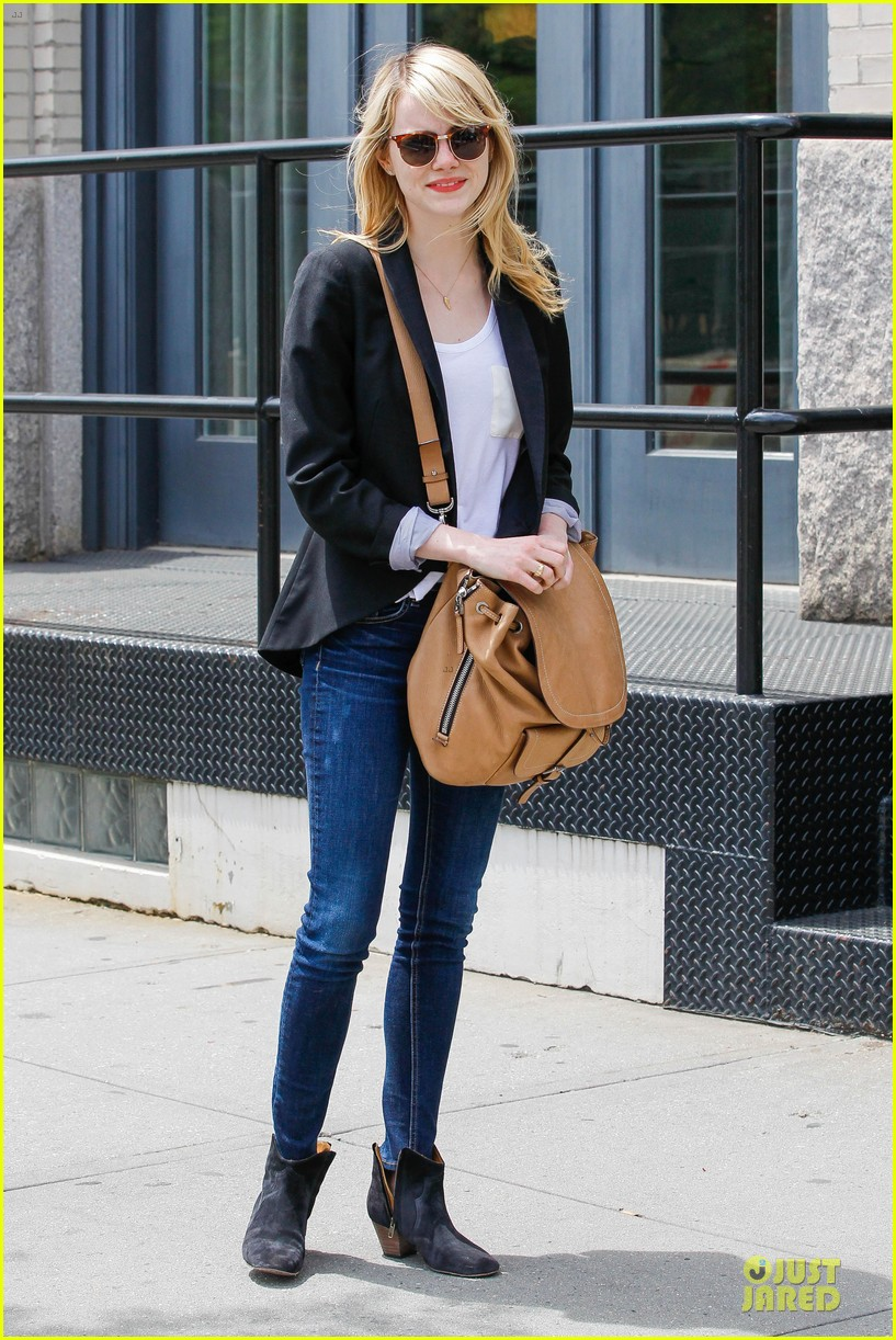 emma stone andrew garfield separate new york strolls 17