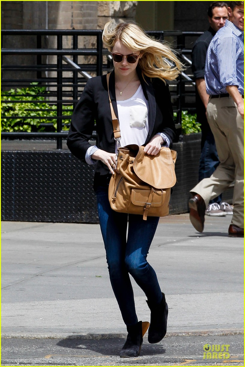emma stone andrew garfield separate new york strolls 19