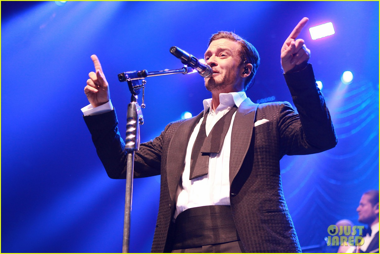 justin timberlake mastercard concert with jessica biel 202864622