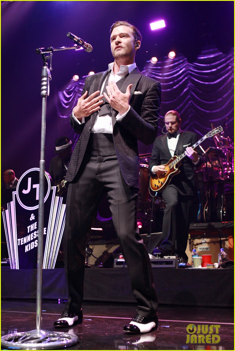 justin timberlake mastercard concert with jessica biel 222864624
