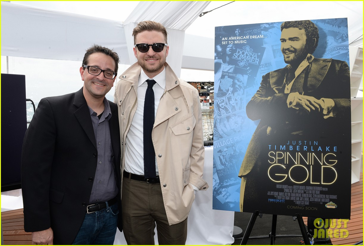 justin timberlake torch cannes spinning gold celebration 062870911