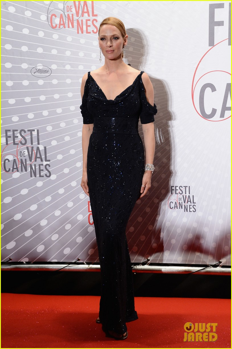 uma thurman palme d or winners dinner at cannes 22