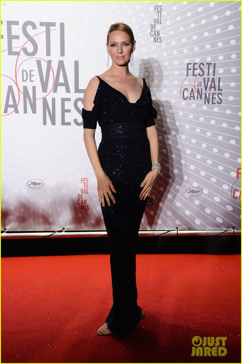 uma thurman palme d or winners dinner at cannes 24