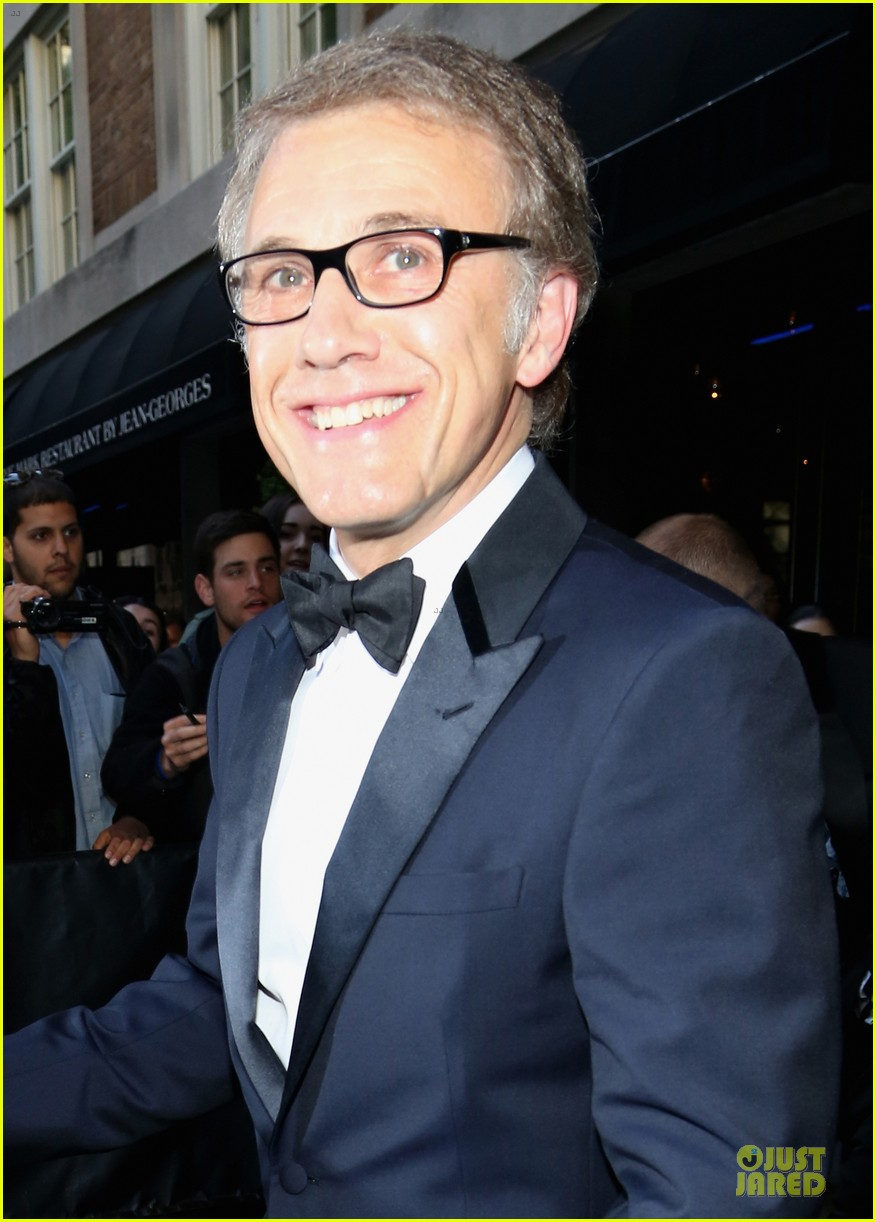 christoph waltz met ball 2013 red carpet 042865641