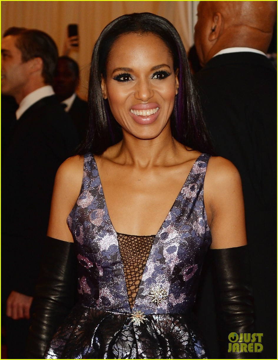 kerry washington met ball 2013 red carpet 04