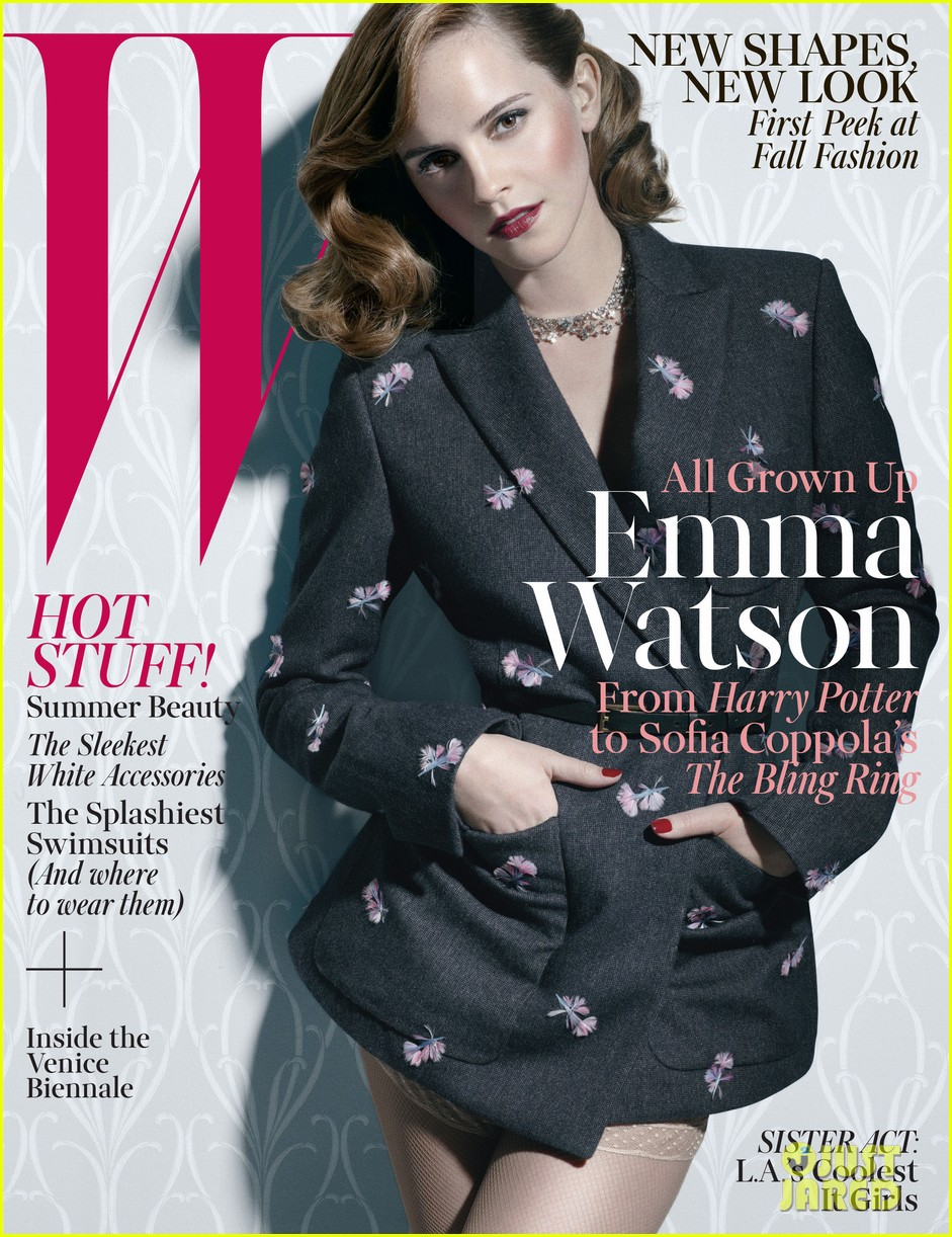 emma watson covers w magazine june july 2013 02