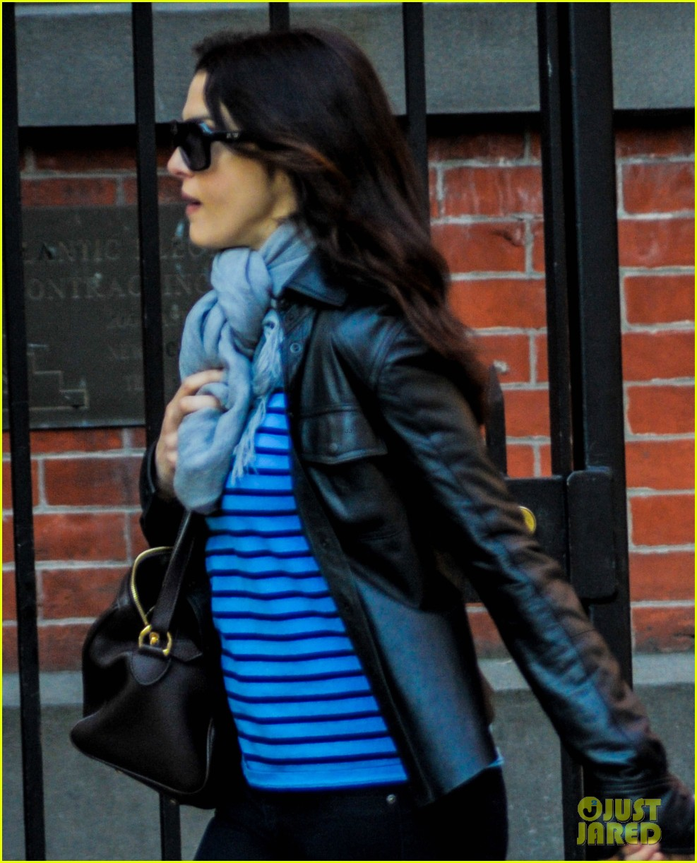 rachel weisz post mothers day outing with henry 03