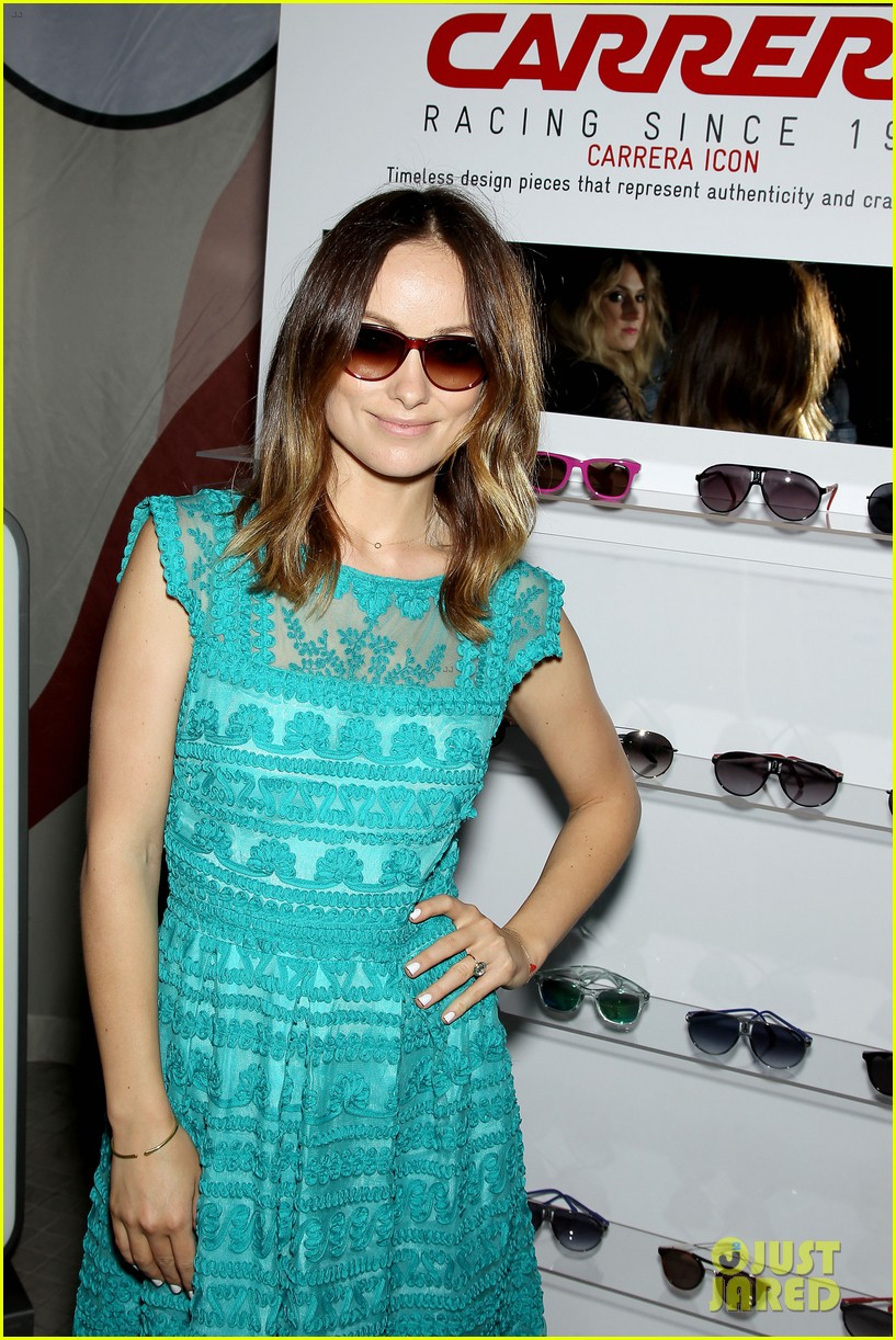 olivia wilde carrera retrospective exhibition 012866350