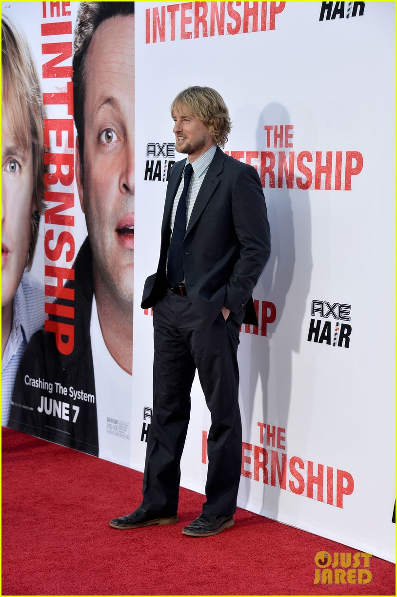 owen wilson vince vaughn the internship premiere 08