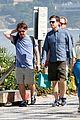 zach galifianakis ed helms shirtless beach day with bradley cooper 13