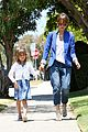 jessica alba cash warren honors kindergarten graduation lunch 05
