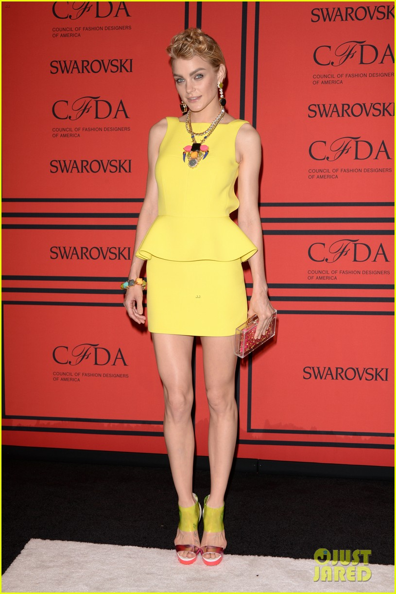 lily aldridge hilary rhoda cfda fashion awards 2013 03