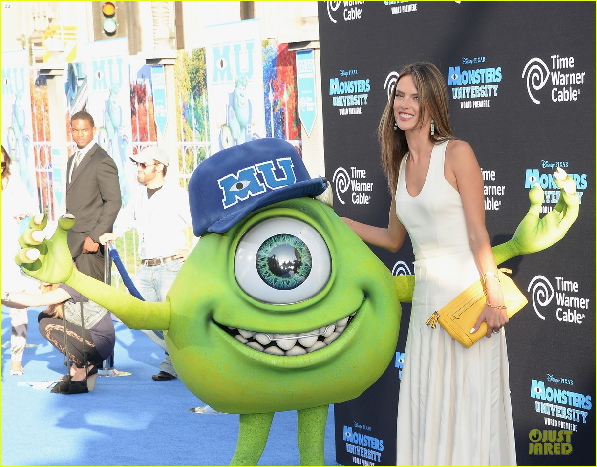 alessandra ambrosio garrett clayton monsters university premiere 09