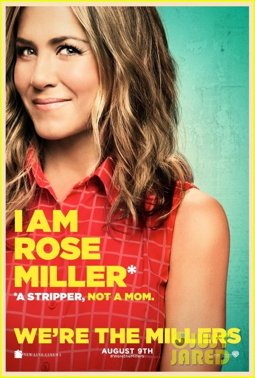 jennifer aniston were the millers character posters 042890644