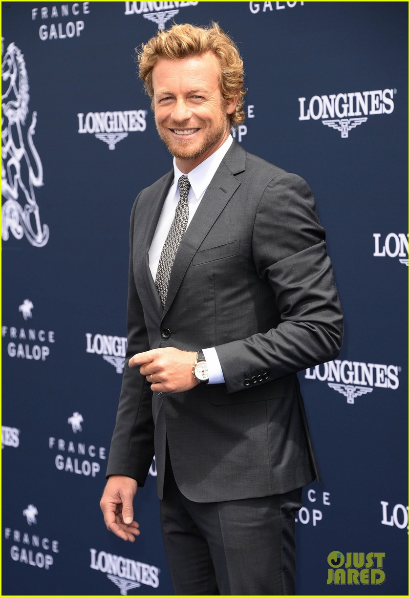 simon baker prix de diane longines in paris 03