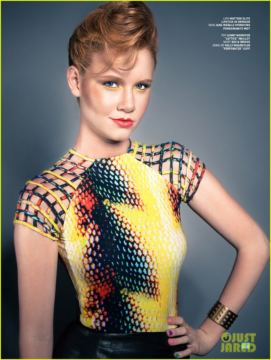 madisen beaty covers bello beauty issue 02