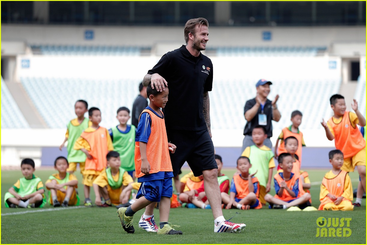 david beckham visits china 182893638
