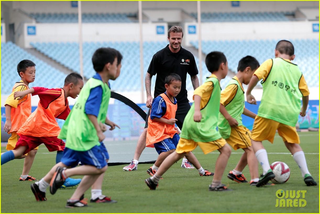 david beckham visits china 292893648