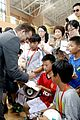 david beckham visits hangzhou greentown club victoria shops 15
