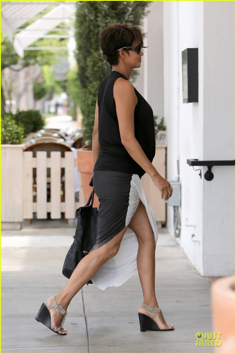 halle berry twisted legs at fig olive 112901366