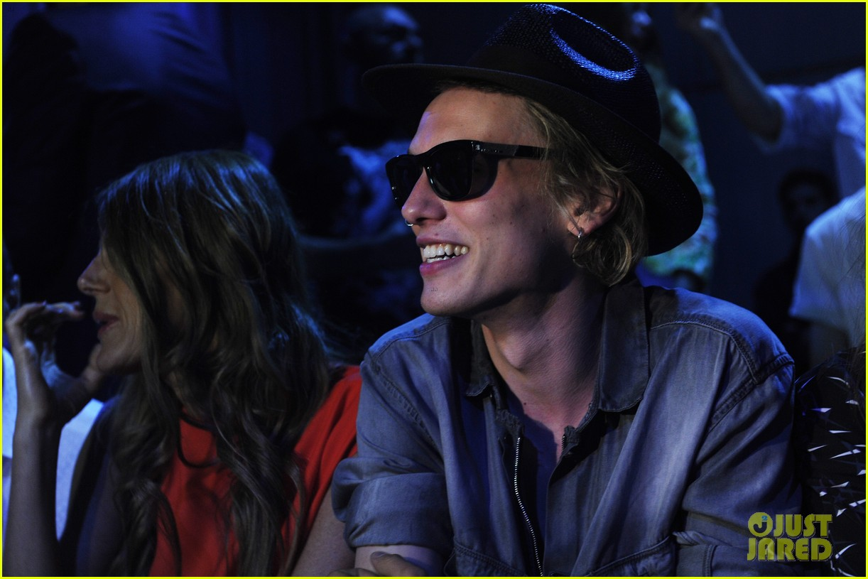 jamie campbell bower diesel black gold fashion show 112897547