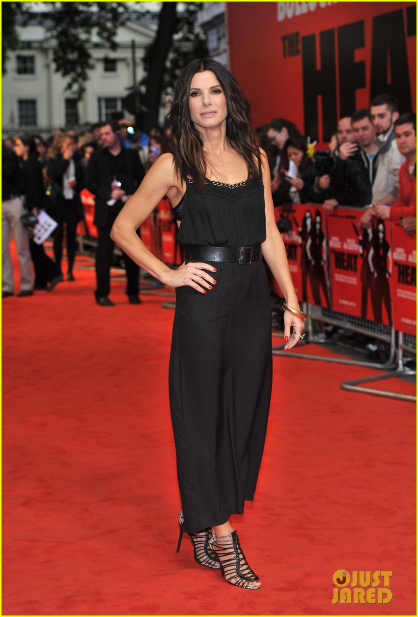 sandra bullock the heat gala screening in london 08