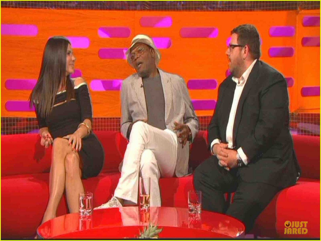 sandra bullock samuel l jackson sex scenes on graham norton 10