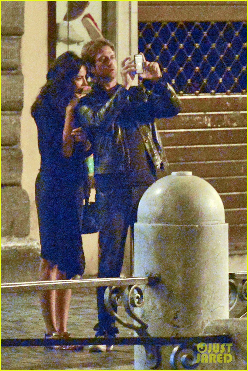 gerard butler rome night out with madalena ghenea 08
